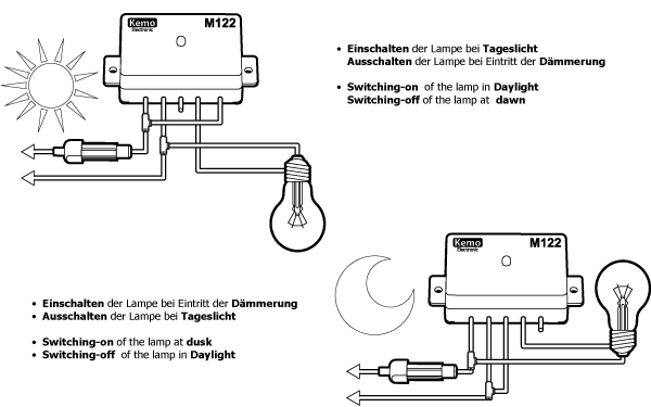 Regensensor kapazitiv M152K Kemo